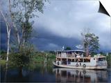 Amazon Riverboat Near Porto Velho  Porto Velho  Rondonia  Brazil