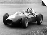 Mike Hawthorn in Ferrari  1958 Dutch Grand Prix