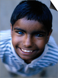 Boy with One Blue and One Brown Eye  Nawalgarh  Rajasthan  India