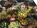 Fruit and Vegetable Market  Ban Don  Thailand