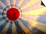 Inside an Inflating Hot-Air Balloon at Dawn