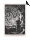 20 000 Leagues Under the Sea: Giant Squid Seen from the Safety of the Nautilus