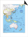 1989 Asia-Pacific Map