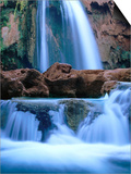 Havasu Falls  Havasupai Indian Reservation  Grand Canyon National Park  Arizona