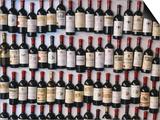 Fridge Magnet Wine Bottles  St Emilion  Aquitaine  France