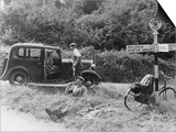 1935 Standard 10 in the Devon Countryside