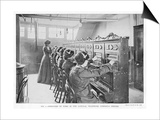 The Switchboard of the National Telephone Company United Kingdom