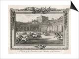 Ancient Rome Gladiators Chariots Etc in the Theatre of Caesarea