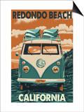 Redondo Beach  California - VW Van