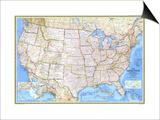 1987 United States Map