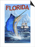 Florida - Sailfish Scene
