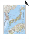 2011 Japan and Korea Map