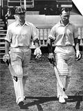 BO Allen and PA Gibb Open the Innings  Lord's  1938