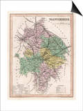 Map of Warwickshire