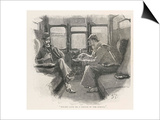 Silver Blaze Holmes and Watson in a Railway Compartment