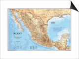 1994 Mexico Map