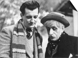 Vincent Scotto and Marcel Pagnol on The Set of Jofroi  1933