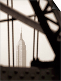 Empire State Building Through Manhattan Bridge