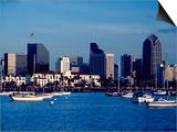 Skyline and Boats  San Diego  CA