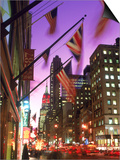 NYC  Fifth Avenue Flags