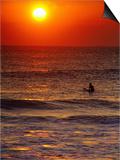 Surfer at Sunrise  FL