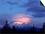 Mt Shasta at Dusk