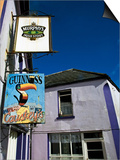 Pub Signs  Eyeries Village  Beara Peninsula  County Cork  Ireland