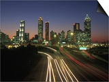 Night Skyline  Atlanta  Georgia