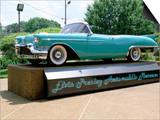 Classic Car  Graceland  Mamphis  Tennessee  USA
