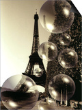 The Eiffel Tower with Bubbles