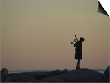 Bagpipe Player  Nova Scotia  Canada