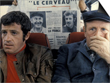 Jean-Paul Belmondo and Bourvil: Le Cerveau  1969