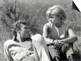 Johnny Hallyday and Sylvie Vartan  June 6  1963