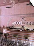 Art Deco Period Bar Area  Usha Kiran Palace Hotel  Gwalior  Madhya Pradesh State  India