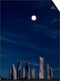 Standing Stones  Callanish  Isle of Lewis  Outer Hebrides  Scotland  United Kingdom