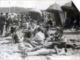 Beach at Deauville  August 15  1930