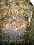 Interior  Sistine Chapel  the Vatican  Rome  Lazio  Italy