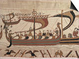 Invasion Fleet  Bayeux Tapestry  France