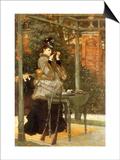 Woman at Rifle Range  1869