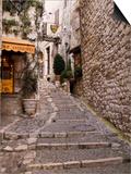 St Paul De Vence  Alpes Maritimes  Provence  Cote d'Azur  France
