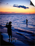 Boys Fishing  Lake Erie  OH