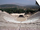 Restored Theatre  Epidaurus  Unesco World Heritage Site  Greece