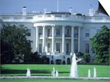 Exterior of White House  Washington  DC