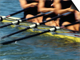 Detail of Rowers in Action