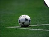 Soccer Ball in Corner Kick Position