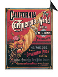 California   Cornucopia of the World  c1880