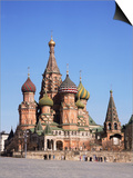St Basil's Cathedral  Red Square  Unesco World Heritage Site  Moscow  Russia