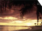Sunset  Poipu Beach  Kauai  HI