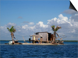 One Man Island off Placencia  Belize