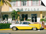The Avalon Hotel  an Art Deco Hotel on Ocean Drive  South Beach  Miami Beach  Florida  USA